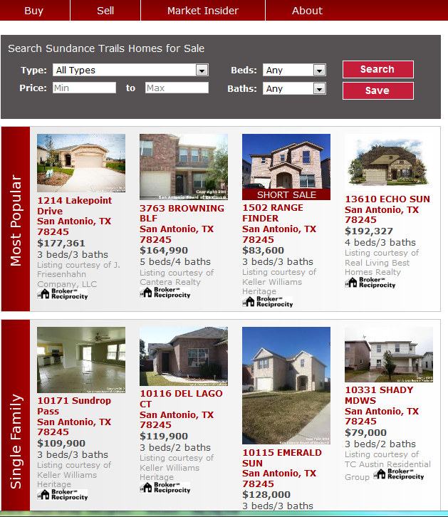 US Real Estate Listings TX Bexar County San Antonio Greater Dellview.