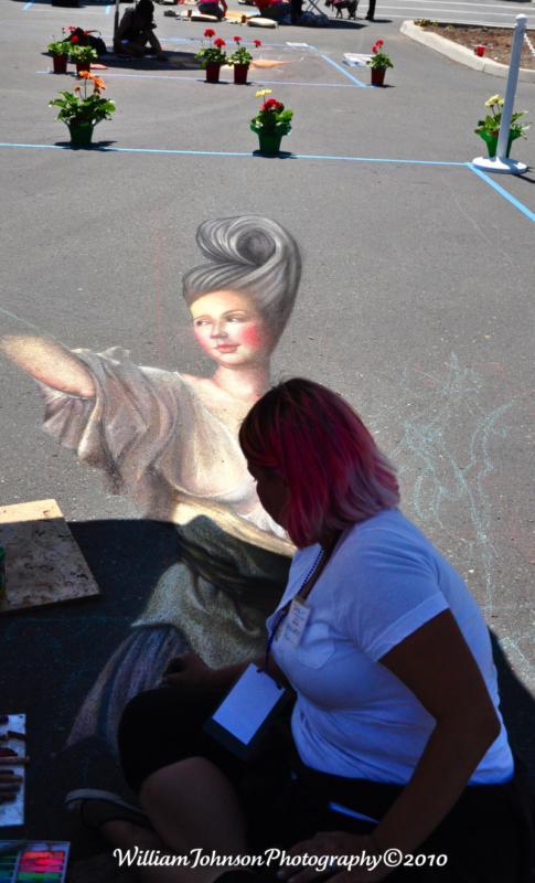 Madonnari Chaulk Artist