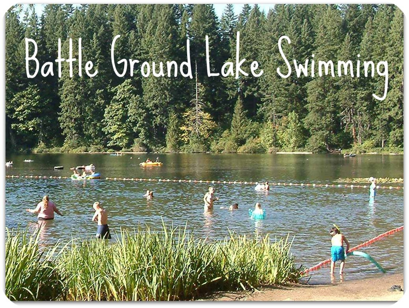 Think before you swim - Battle Ground Lake in Clark County washington