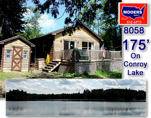 conroy lake log home