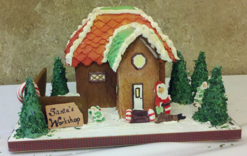 Cary, NC's Gingerbread House Competition