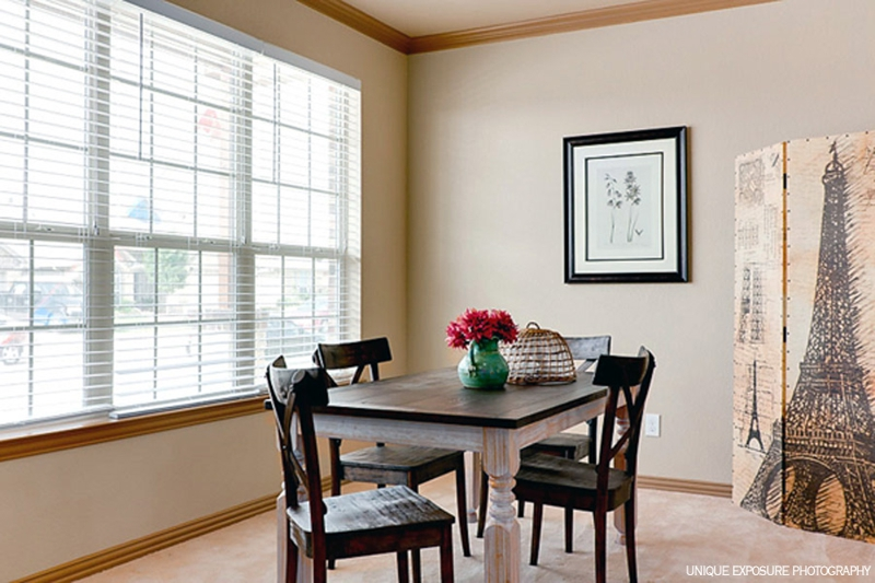 Dining Room - After Staging