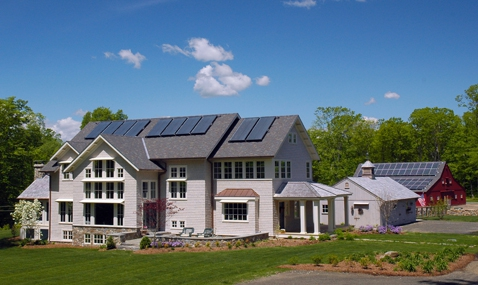 Keithan Net Zero Home, CT.
