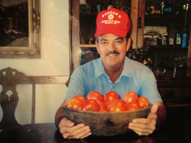 Rodger Duncan tomatoes