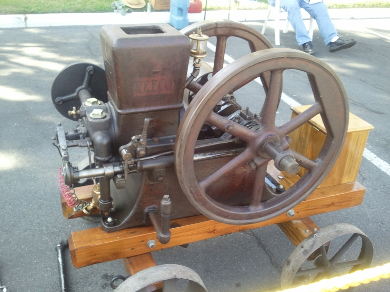Corn Feed Run Antique Engine