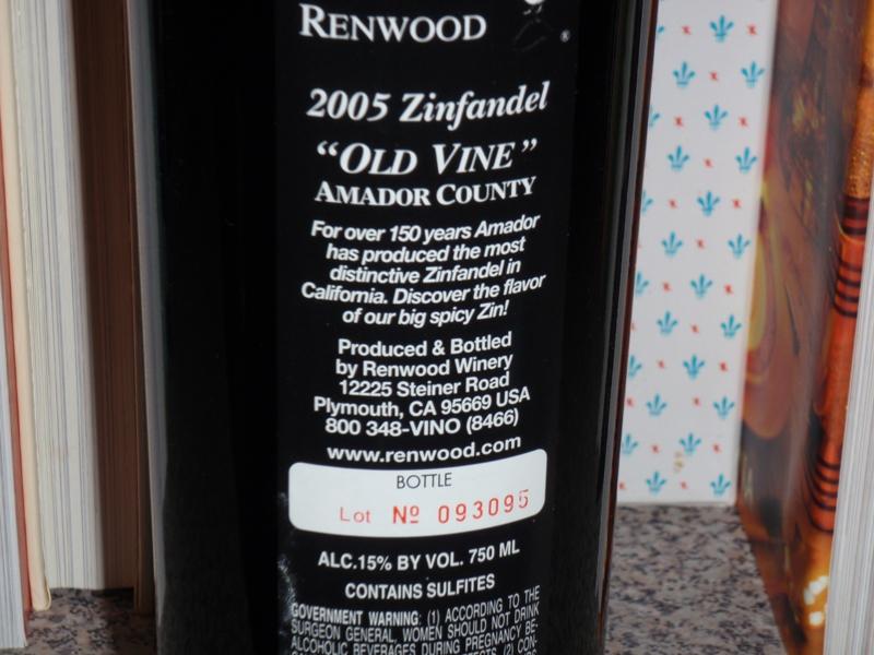 Renwood 2005 Zinfandel by Endre Barath