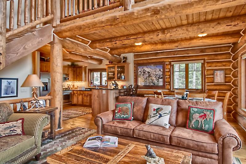 log exterior colorado cabins rustic ridge breckenridge rentals moose cabin home