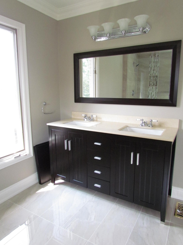 All i did was reno a 1980 39 s bathroom to look awesome for Benjamin moore eco spec paint reviews