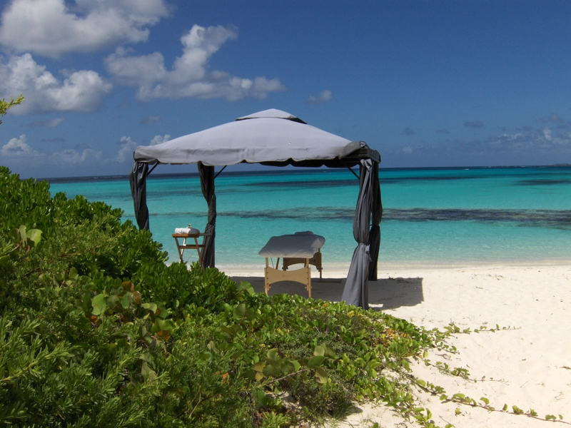 Shoal Bay beach near 7 Palms Anguilla