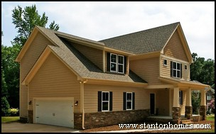 Side Entry Garage | Side Garage Floor Plans | Garage on Side of Home
