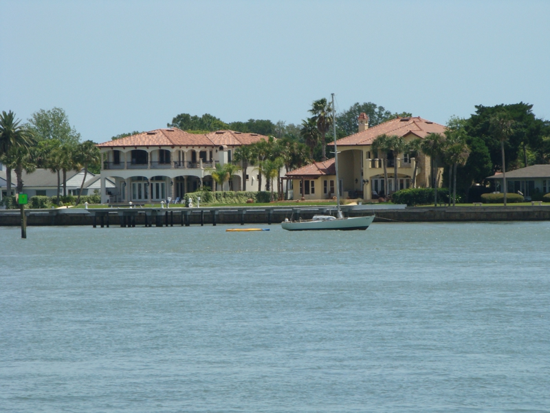 Intracoastal downtown St Augustine
