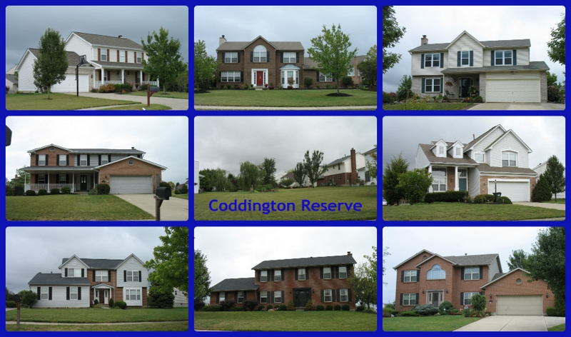 Coddington Reserve community of Mason Ohio 45040