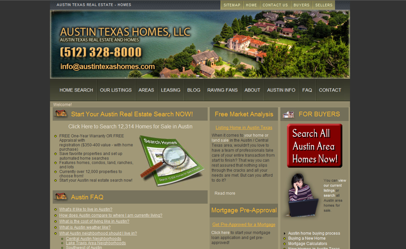 austin texas homes, llc