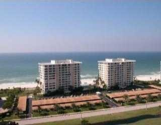 Gulf front condos at Longboat Key Towers