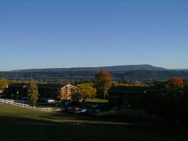 View From Upper Campus Looking Over Lower Campus