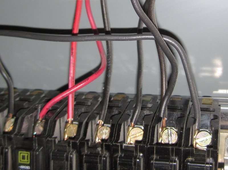 Improper Wiring of Square D Breaker