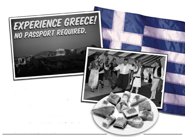 Tulsa's Greek Holiday - no passport required!