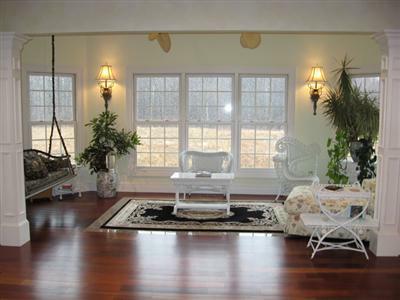 Hearth Room in Luxury Solon Home