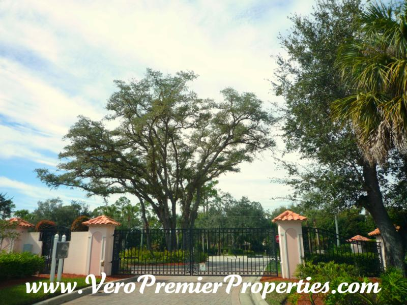 the vineyard homes for sale vero beach florida gated