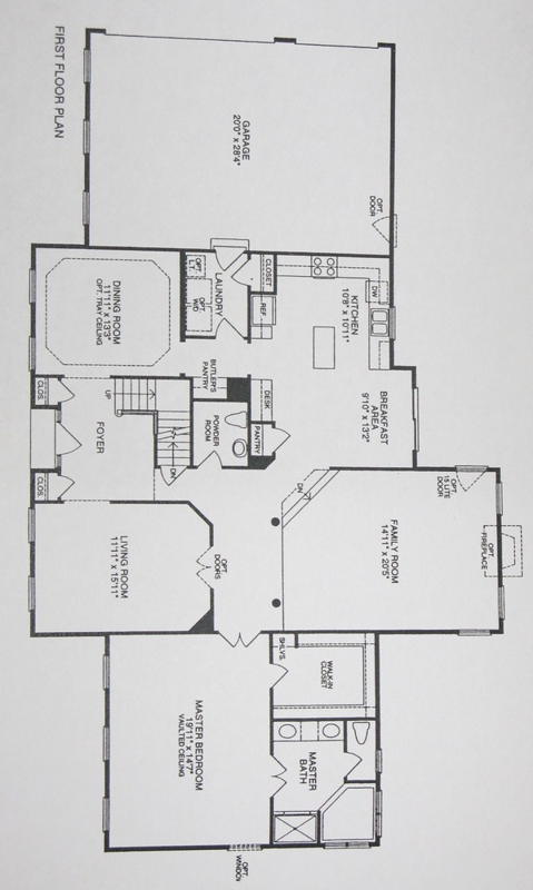 New construction with first floor master bedroom good First floor master bedroom