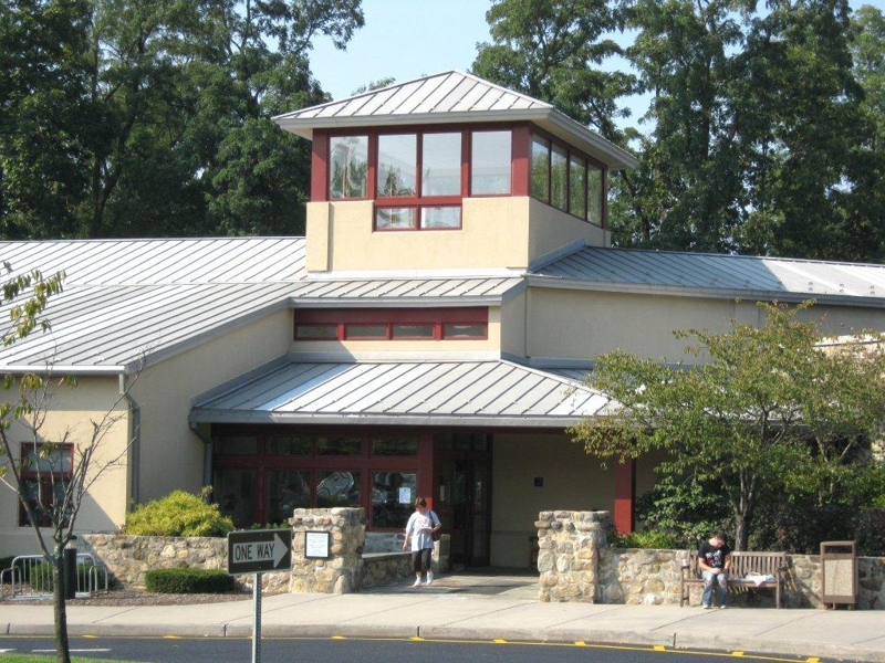 Suffern New York beautiful, new, library with a cafe