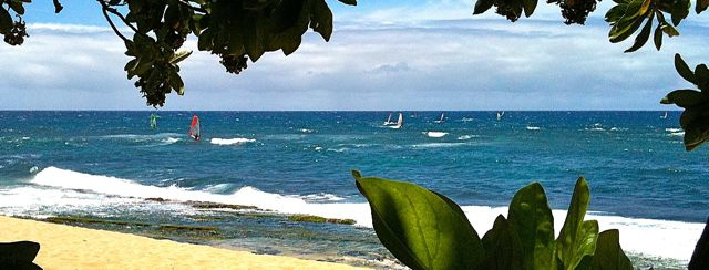 The Maui Makani Classic tears up the waves this week on the north shore of Maui