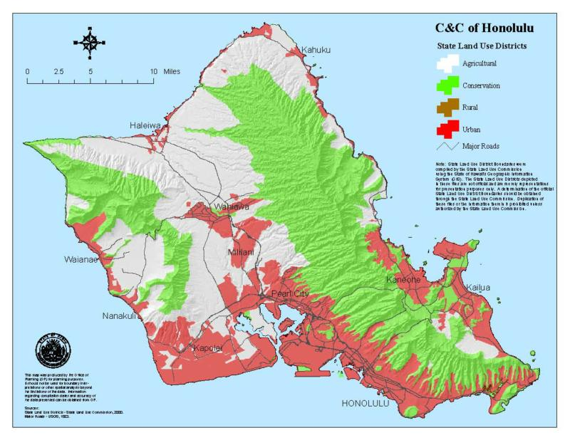Hawaii Oahu Zoning Special Use And Building Permits