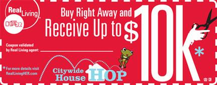 Buy right away and receive up to $10K