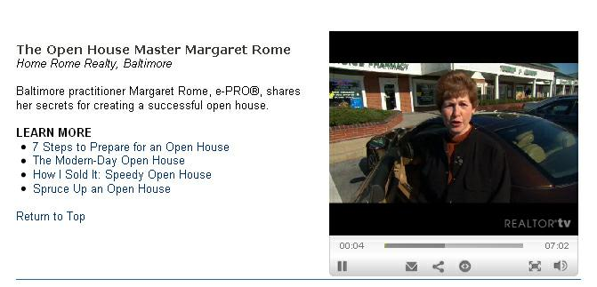 Realtor Magazine video page