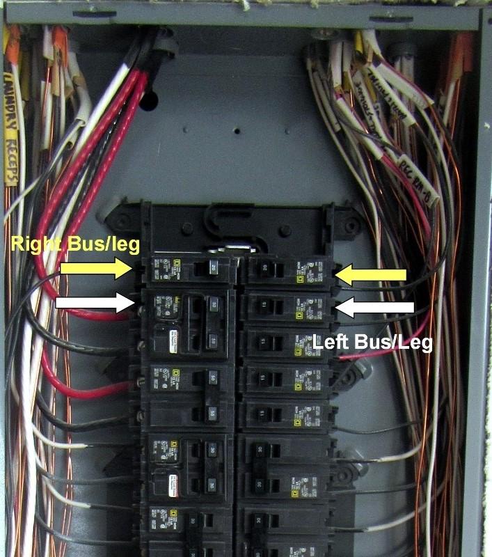 Square D Service Panel Chelan Building Inspection