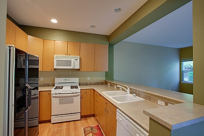 ashburn condo kitchen