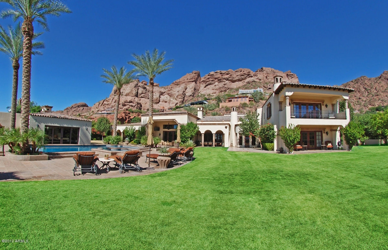 Highest priced phoenix luxury home sold in january 2013 in for Arizona luxury homes