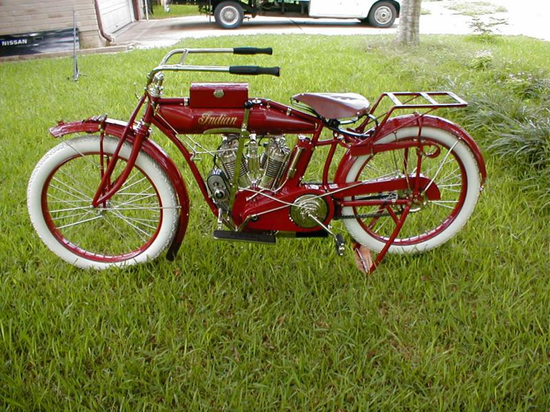 Old indian motorcycles