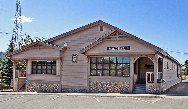 Mount Shasta Ca Castle Street Clinic Commercial Office