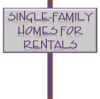 single family homes for rentals