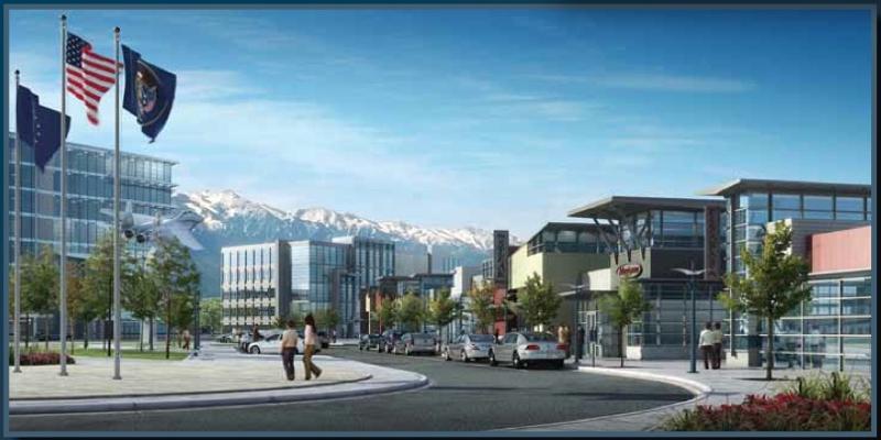 Massive New Development At Hill Force Base Roy Utah