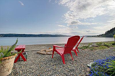 North SHore Hood Canal Waterfront Home