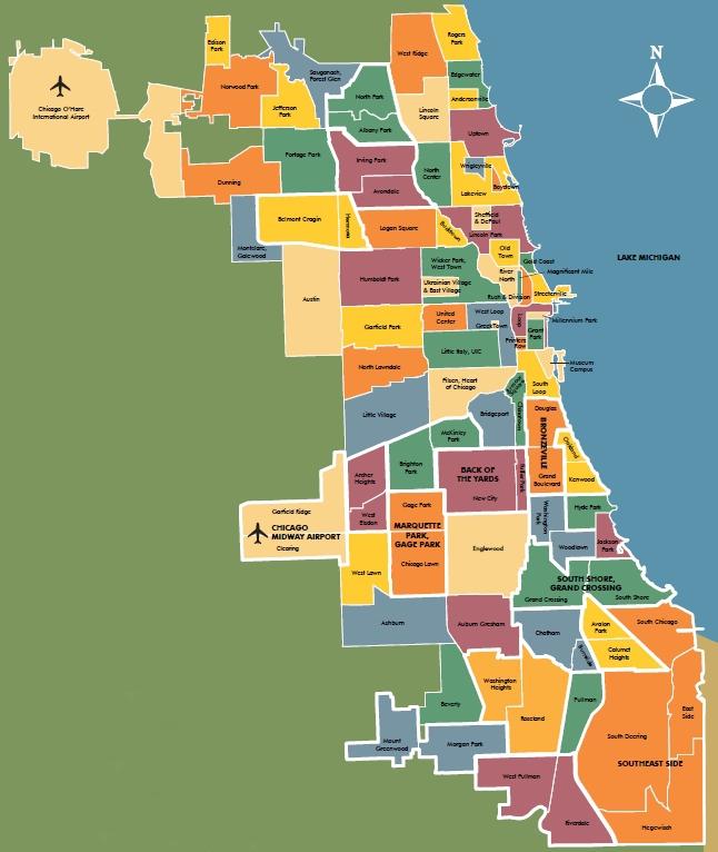 Chicago Neighborhoods or Community Areas