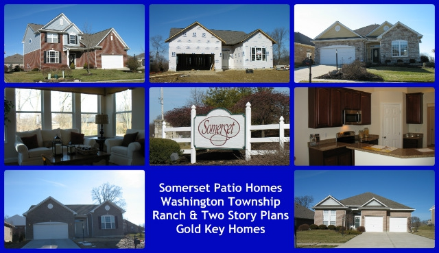 Somerset patio home community of Washington Township, OH 45458