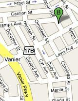 Vanier, Ontario Map