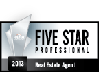 2013 Five Star Professional Real Estate Agent