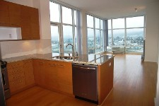 Pacifica Waterfront condos- view from the kitchen