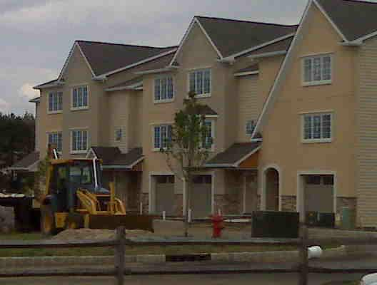 New Construction In Fairfield New Jersey Tuscany Village Townhouse Complex