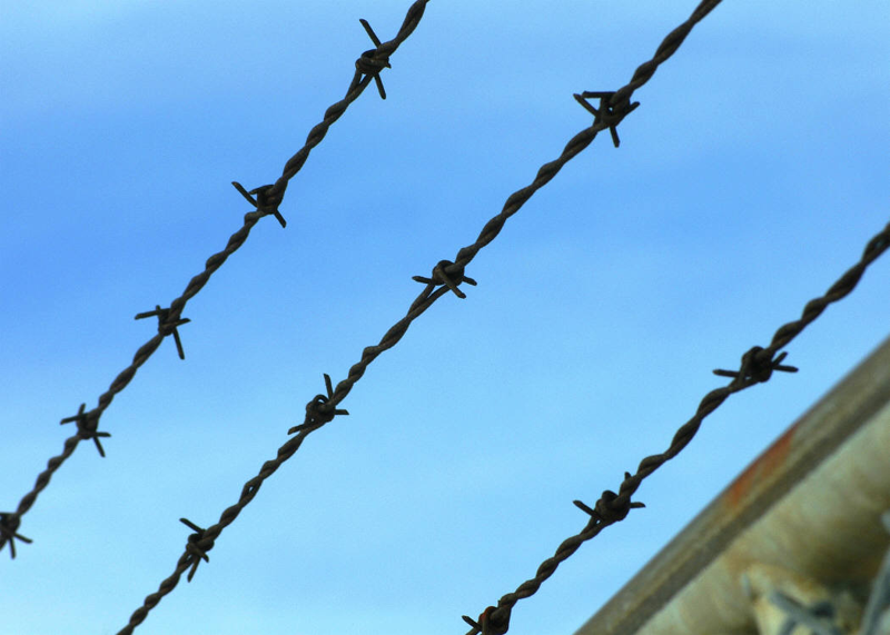 Barbed Wire is One Strategy for Maintaining The Code of The West