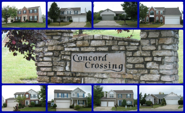 Concord Crossing community of Mason Ohio 45040