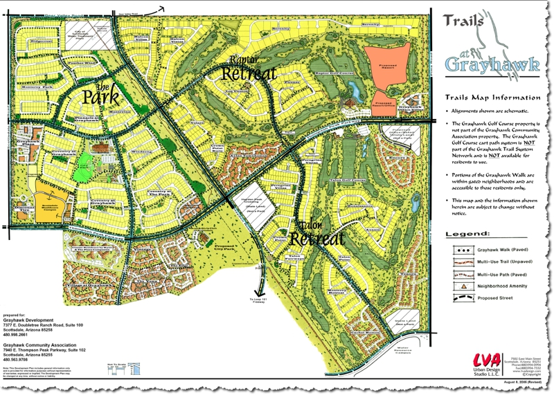 Grayhawk of Scottsdale Arizona Trail Map - getting outdoors ...
