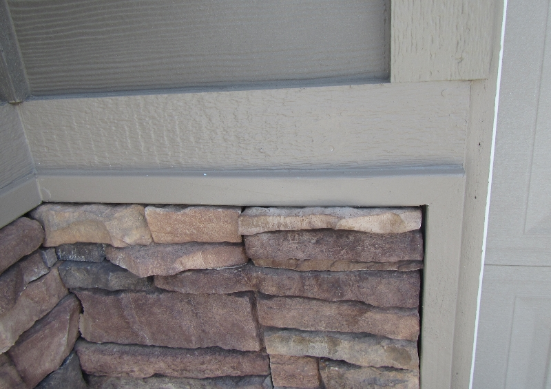Missing Flashings and transitions Chelan Home Inspection