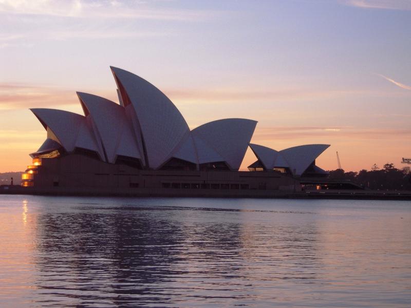 Almost Wordless Wednesday Sydney Opera House At Sunrise