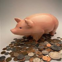 using your piggy bank
