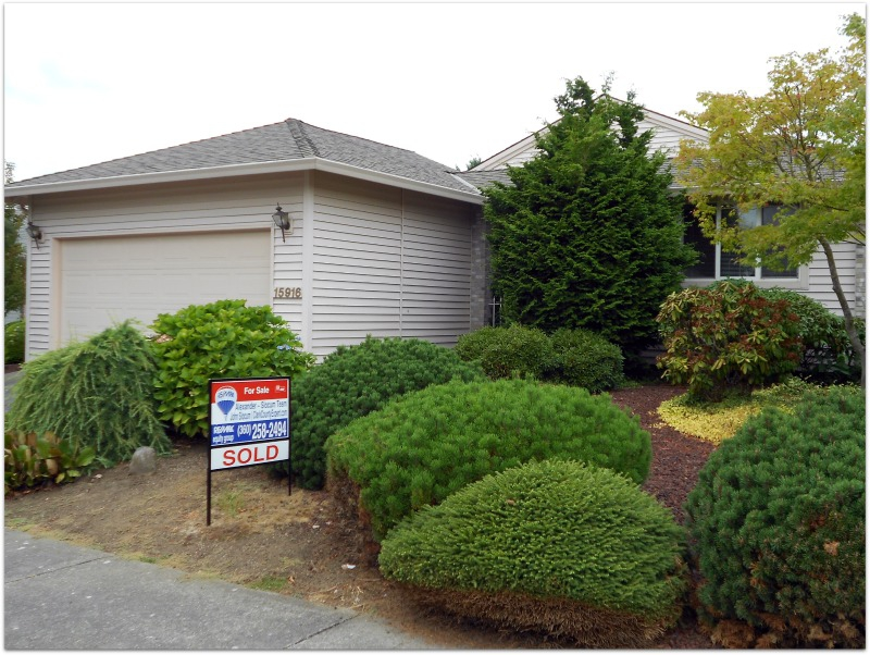 Home Sold in Fairway Village Vancouver Washington